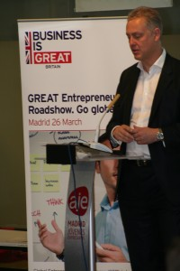 Global Entrepreneur Roadshow Madrid 2014